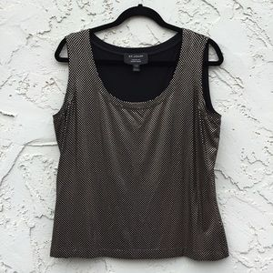 St John Exclusively For Nordstrom Top Size Large